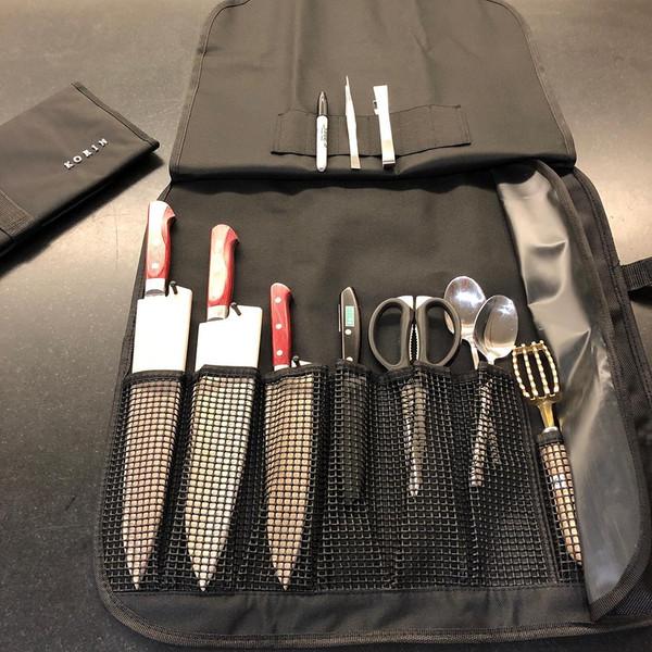 Image of KORIN Waterproof Knife Roll Bag - 8 Knives Holder 4