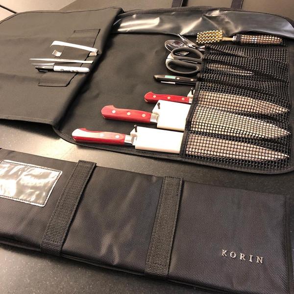 Image of KORIN Waterproof Knife Roll Bag - 8 Knives Holder 5
