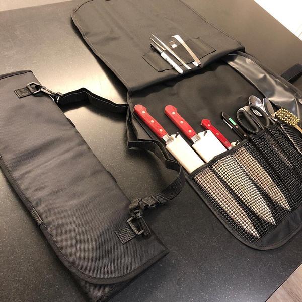 Image of KORIN Waterproof Knife Roll Bag - 8 Knives Holder 6