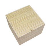 Two Tiered Disposable Natural Take Out Square Box