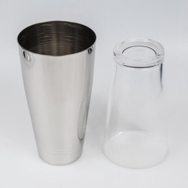 Image of Yukiwa Stainless Steel Boston Cocktail Shaker and Mixing Glass Set 2