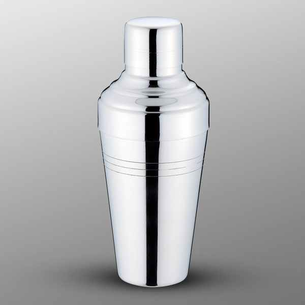 Image of Yukiwa Baron Micron Bubble Mirror Finished Stainless Steel Cobbler Cocktail Shaker 1