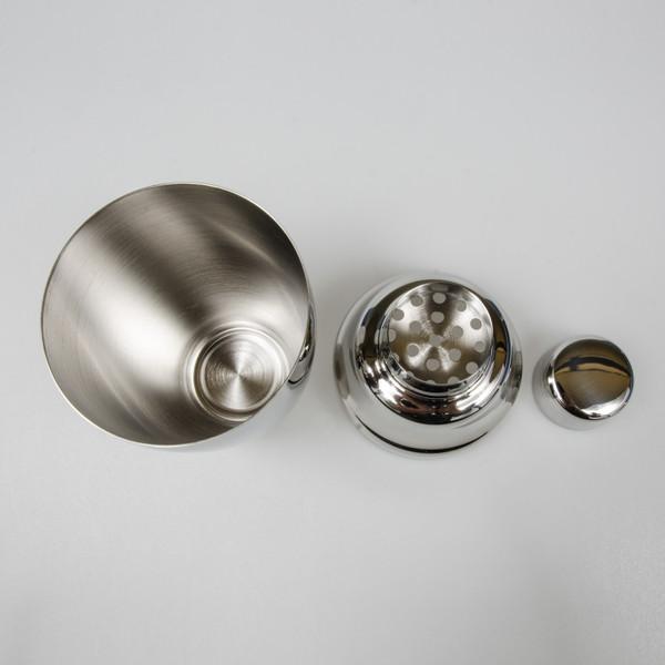 Image of Yukiwa Stainless Steel Jumbo Cobbler Cocktail Shaker 4