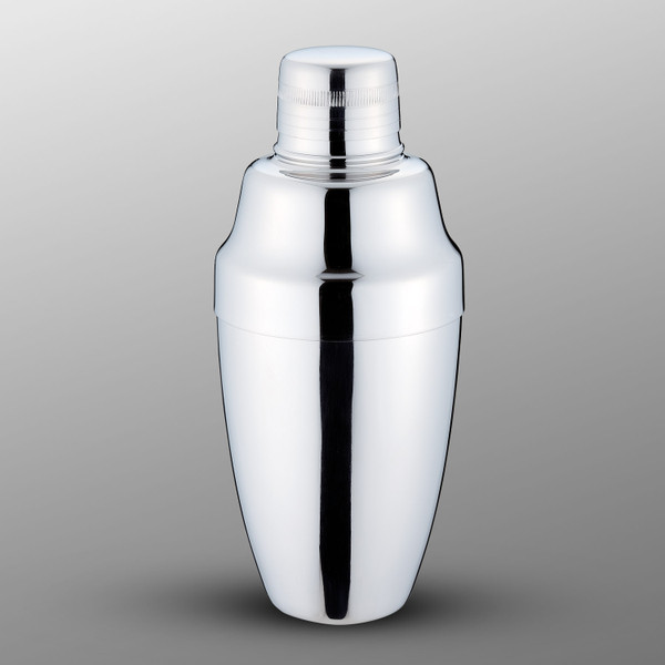 Image of Yukiwa Micron Bubble Mirror Finished Stainless Steel Cobbler Cocktail Shaker 1