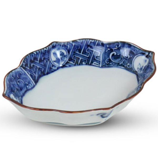 Image of Sometsuke Blue Seasonal Bowl
