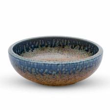 Ainagashi Blue Brown Bowl