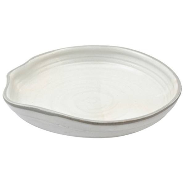 Image of Pearl White Round Bowl