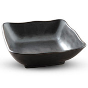 Tessa Black Square Bowl