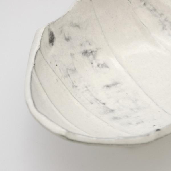 Image of Irregular Shaped White Footed Bowl 3