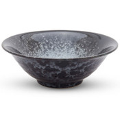 Silver Black Granite Bowl