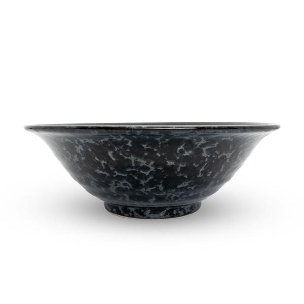 Image of Silver Black Granite Bowl 2