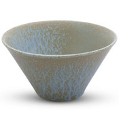 Zorba Blue Abstract Wide Bowl