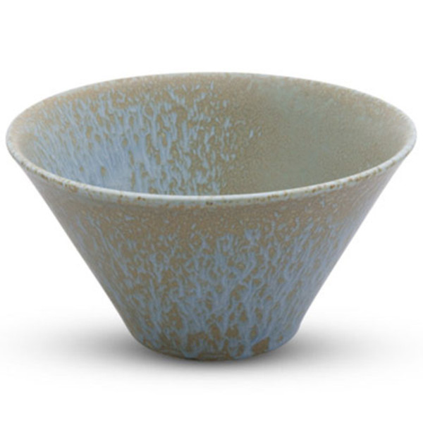 Image of Zorba Blue Abstract Wide Bowl 1