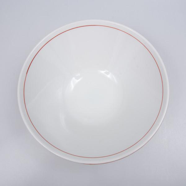 Image of Brick Red Round Ramen Bowl 2