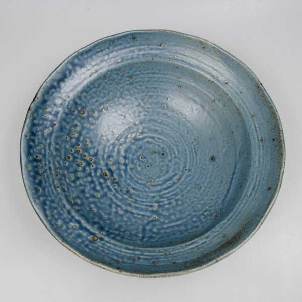 Image of Cornflower Blue Round Bowl 2