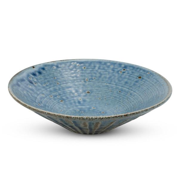 Image of Cornflower Blue Round Bowl 1