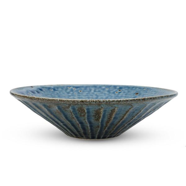 Image of Cornflower Blue Round Bowl 3