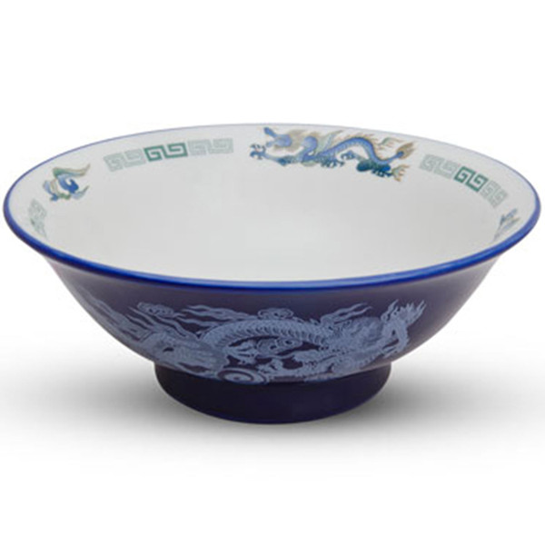 Image of Blue Dragon Rounded Bowl