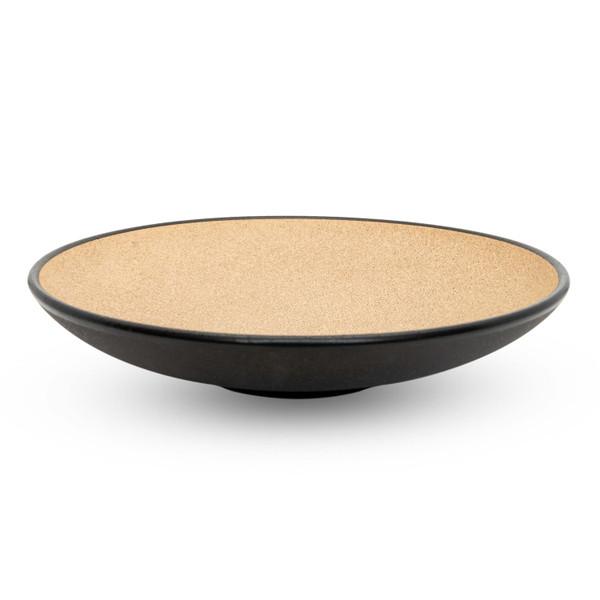 Image of Tamamo Brown Shallow Bowl 1