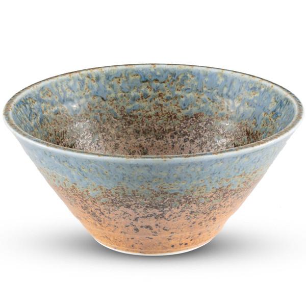 Image of Ainagashi Blue Round Bowl 1