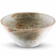Yukishino White Round Bowl