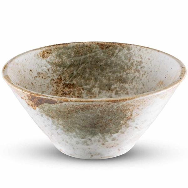 Image of Yukishino White Round Bowl 1