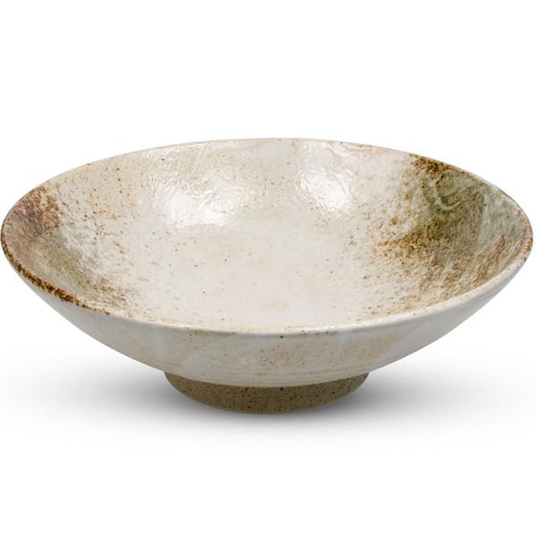 Image of Yukishino Round Brown Bowl 1