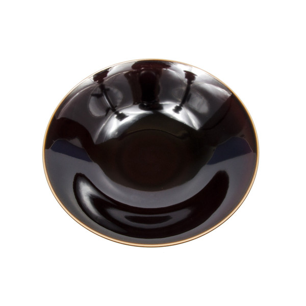 Image of Umber Brown Round Bowl 2