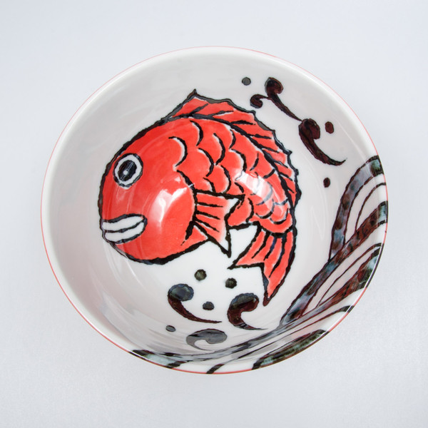 Image of Red Snapper Round Bowl 2