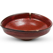 Shuin Red Round Bowl