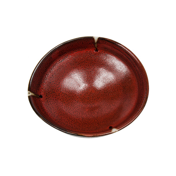 Image of Shuin Red Round Bowl 2