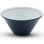 Tall Black Ramen Bowl