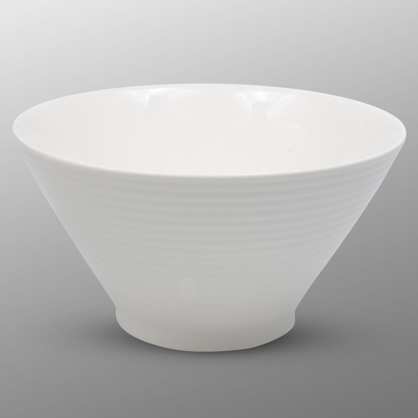 Image of Korin Durable White Lined Bowl 1