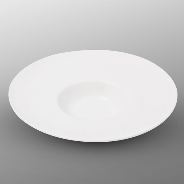 Image of Korin Durable White Wide Rim Bowl