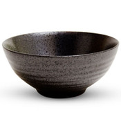 Black Moss Patterned Medium Bowl