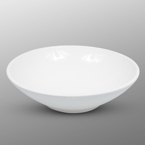 Image of Korin Durable White Round Bowl 1