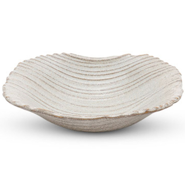 Image of Mokume Beige Abstract Bowl