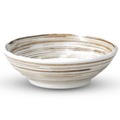 Uzumaki Brown Shallow Bowl