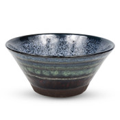 Black Cloud Round Bowl