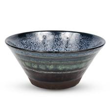 Black Cloud Round Bowl