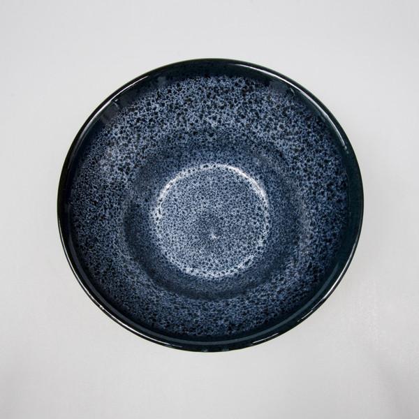 Image of Black Cloud Round Bowl 2