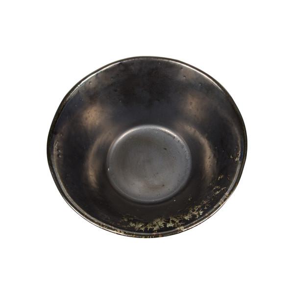 Image of Metallic Slate Gray Round Ramen Bowl 2