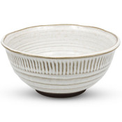 Sogi White Round Bowl