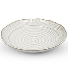 Sogi White Round Plate