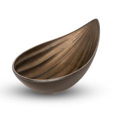 Yogan Oval Almond Brown Bowl