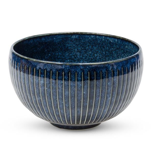 Image of Navy Blue Round Bowl 1