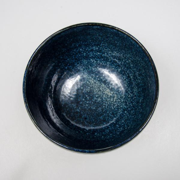 Image of Navy Blue Round Bowl 2