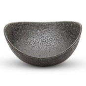 Hammered Luster Abstract Bowl