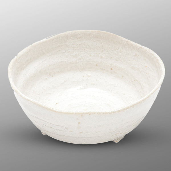 Image of White Footed Round Bowl