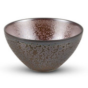 Metallic Brown Round Bowl